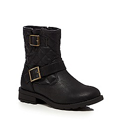 bluezoo - Black girls biker boots