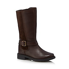 J by Jasper Conran - Girls' brown leather boots