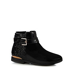 Baker by Ted Baker - Girls' black quilted ankle boots
