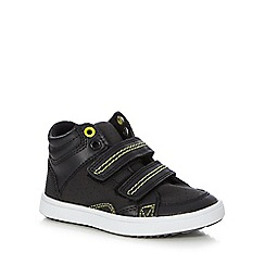 bluezoo - Boys' black high top trainers