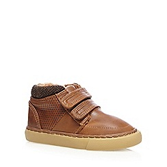 bluezoo - Boys' tan fleece lined boots