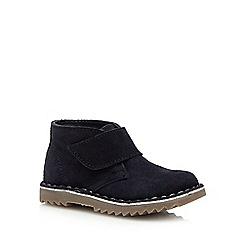 J by Jasper Conran - Boys' navy suede desert boots