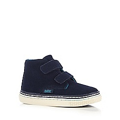 Baker by Ted Baker - Boys' navy suede Chukka boots