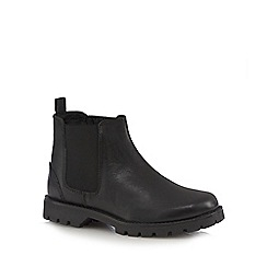 J by Jasper Conran - Unisex black leather Chelsea boots