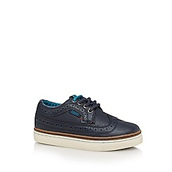 Baker by Ted Baker - Boys' navy brogue shoes