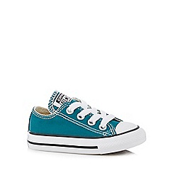 Converse - Boys' green 'Chuck Taylor' trainers