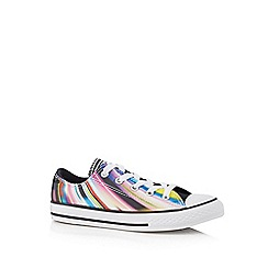 Converse - Girls' multi-coloured 'Chuck Taylor' trainers