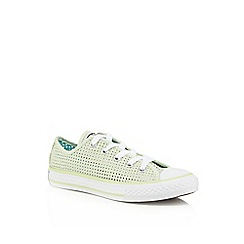 Converse - Girls' light green 'All Star' trainers