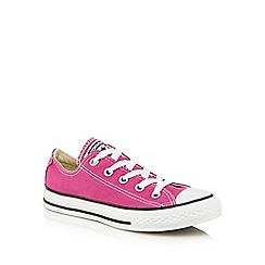 Converse - Boys' pink 'All Star' casual shoes