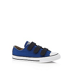 Converse - Boys' blue 'Chuck Taylor' trainers