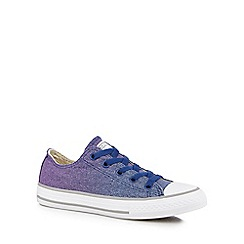 Converse - Boys' blue 'Chuck Taylor All Star' lace up trainers