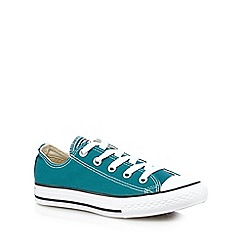 Converse - Boys' dark green 'Chuck Taylor' trainers