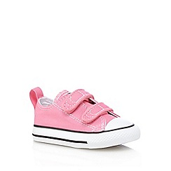 Converse - Girls' pink 'Chuck Taylor' trainers