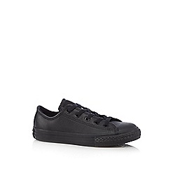 Converse - Boys' black 'Chuck Taylor' trainers