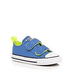 Converse - Baby boys' bright blue 'Chuck Taylor' trainers