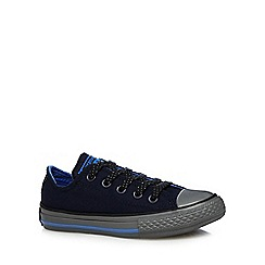 Converse - Boys' navy 'All-Star' lace up shoes