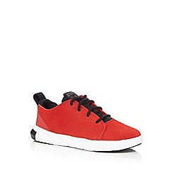Converse - Boys' red 'Easy Ride' suede trainers