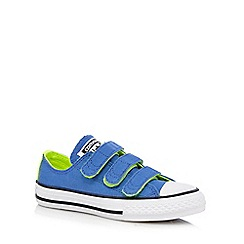 Converse - Boys' bright blue 'Chuck Taylor' trainers