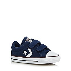 Converse - Boys' navy 'Cons' trainer