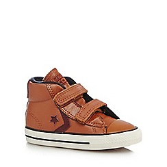 Converse - Boys' tan 'Cons' ankle boot