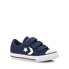 Converse - Boys' navy 'All-Star' trainers