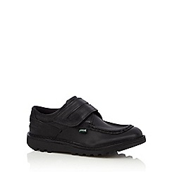 Kickers - Boys' black 'Cyba' shoes