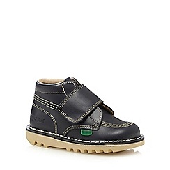 Kickers - Boys' navy 'Kilo' boots