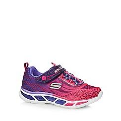 Skechers - Girls' pink 'S-Lights-Lightbeams' trainers