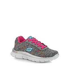 Skechers - Girls' multi-coloured 'Heather' trainers