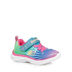 Skechers - Girls' multicoloured 'Colourbeam' trainers