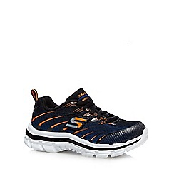 Skechers - Boys' blue mesh trainers