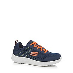 Skechers - Boys' navy trainers