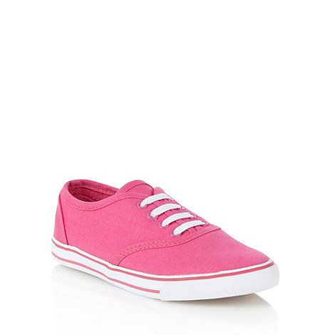 bluezoo - Girl+s pink vulcanised trainers