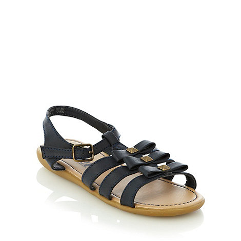 bluezoo - Girl+s navy studded gladiator sandals