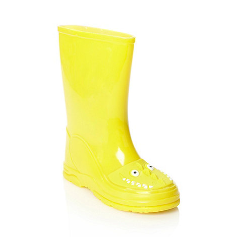 bluezoo - Boy+s yellow novelty wellies