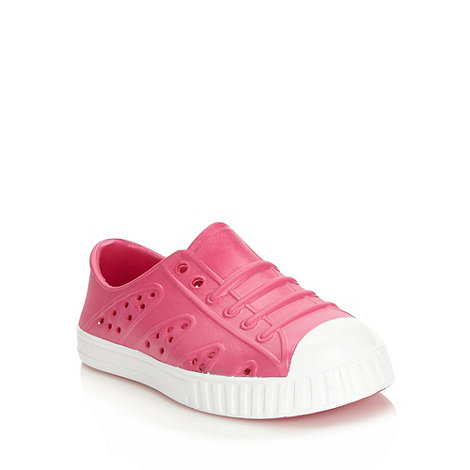 bluezoo - Girl+s pink jelly trainers
