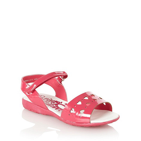 bluezoo - Girl+s pink heart sandals