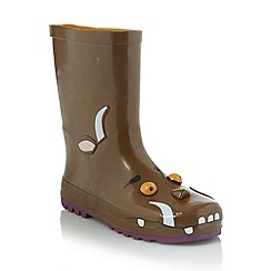 The Gruffalo - Boy's brown 'Gruffalo' wellies