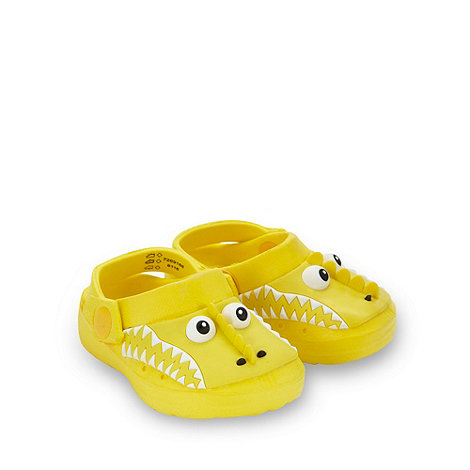 bluezoo - Boy+s yellow monster clogs