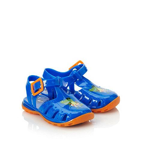 bluezoo - Baby+s blue dinosaur sandals