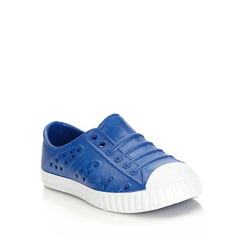 bluezoo - Boy+s blue jelly trainers
