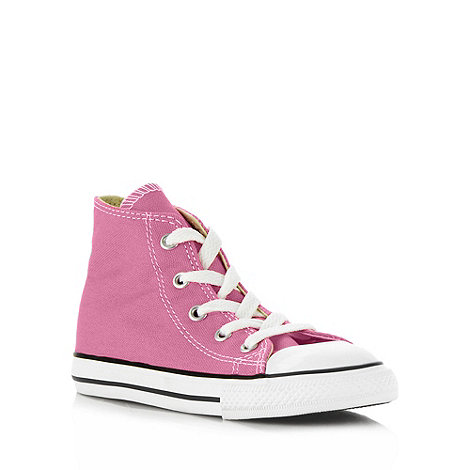 Converse - Pink +All Star+ hi-top trainers