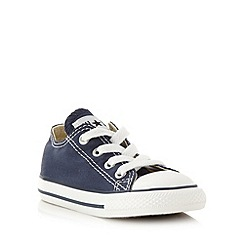 Converse - Boy's navy 'All Star' trainers