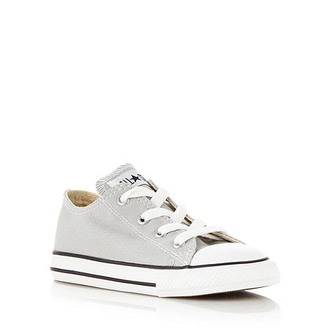 Converse - Boy+s grey +All Star+ trainers