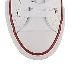Converse - Boy's white 'All Star' trainers
