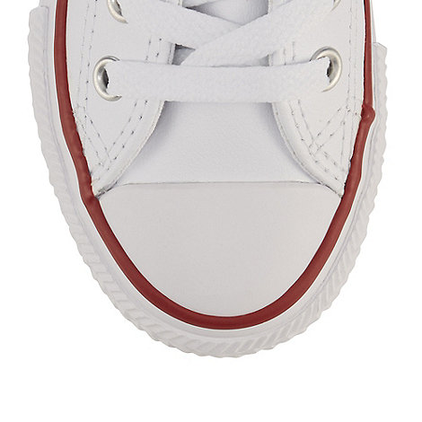 Converse - Children+s white +All Star+ trainers