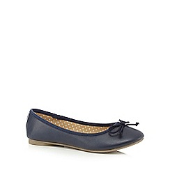 bluezoo - Navy ballet pumps