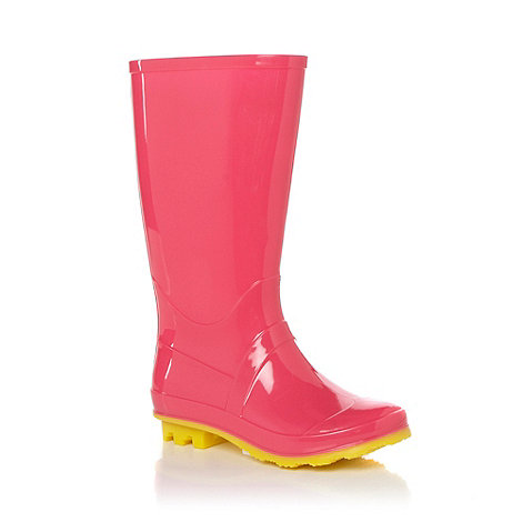 bluezoo - Girl+s pink wellington boot