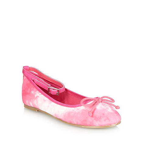 bluezoo - Girl's pink tie dye pumps