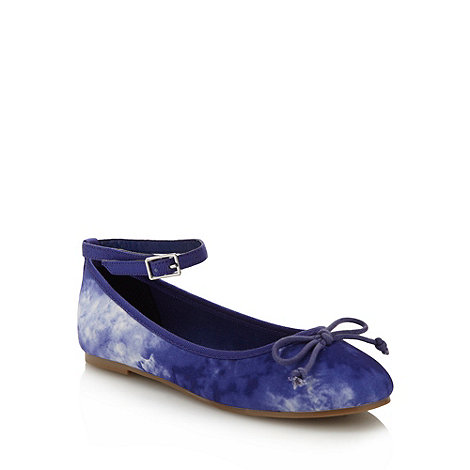bluezoo - Girl+s blue tie dye pumps